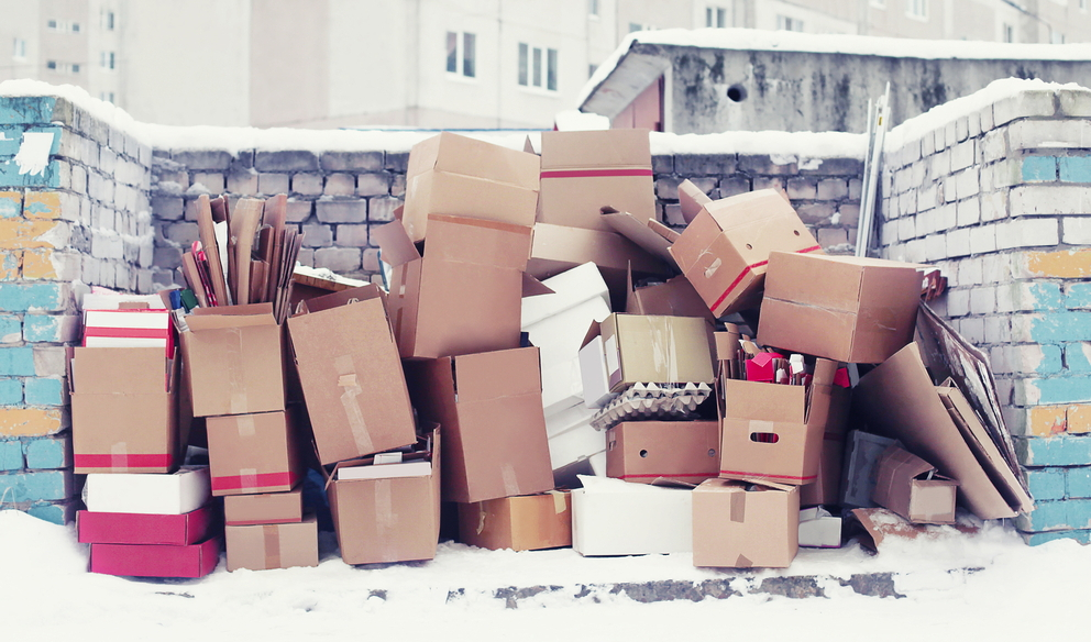 Cold Weather Moving and Boxes